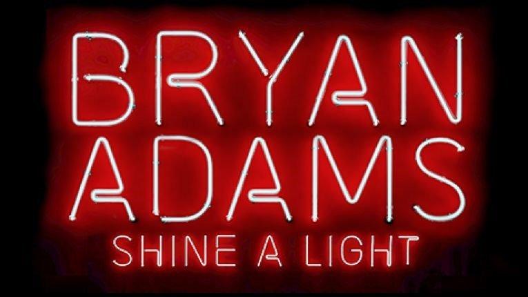 bryan adams shine a light  Bryan Adams annuncia il nuovo album Shine A Light